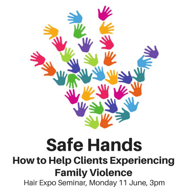 Safe Hands seminar hair expo