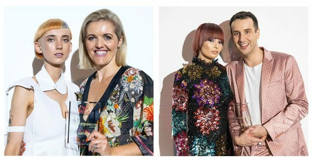 International TrendVision Awards Kylie Hayes & Anthony Bayer