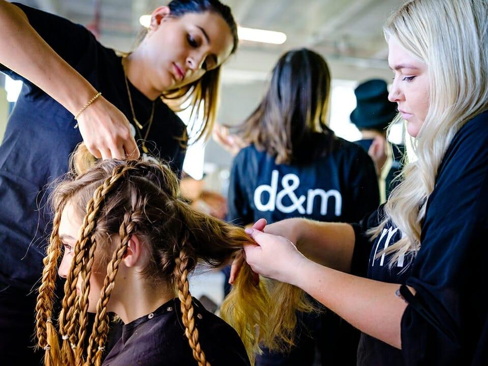 D&M Hair Salon raises funds for Aust bushfires