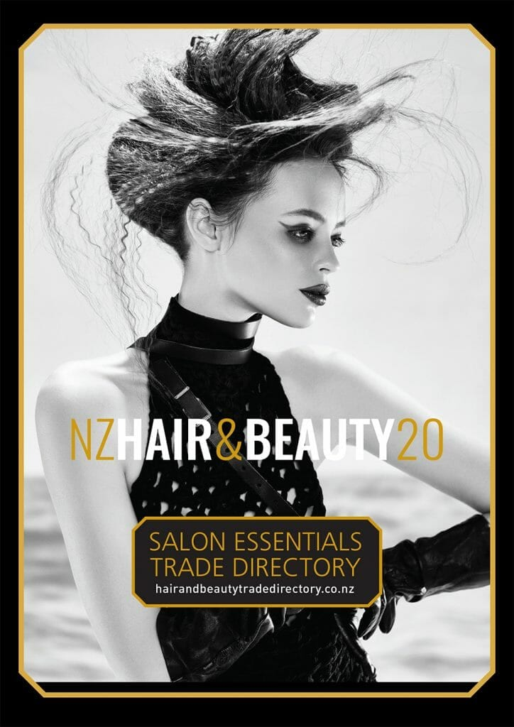 NZ Hair & Beauty Trade Directory 2020cover