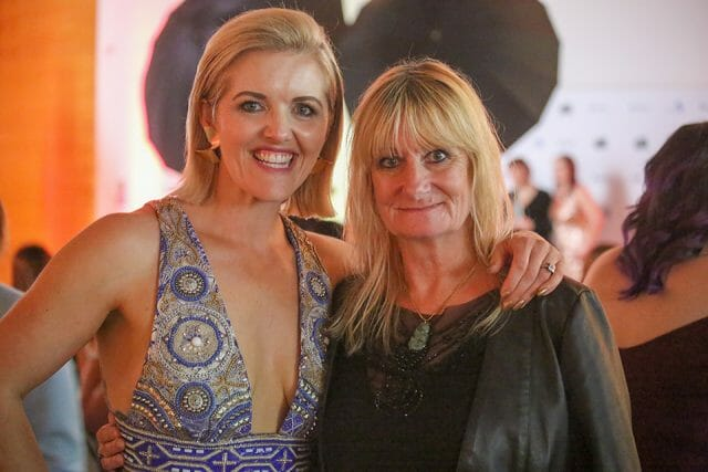 Kylie Hayes Editorial Stylist of the year with Sheryl Buckley editor Images Magazine