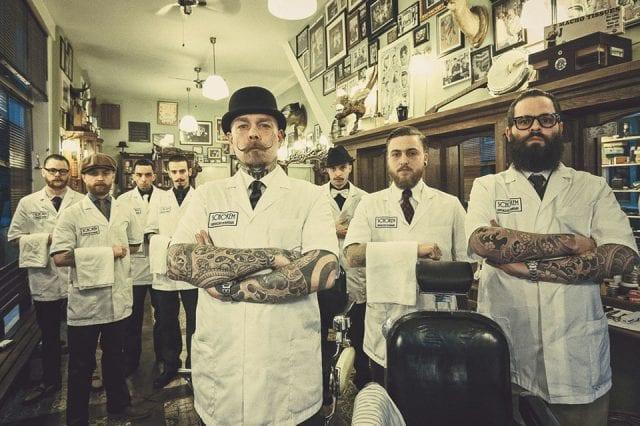 Schorem Barbers Scumbags Rotterdam barbershop