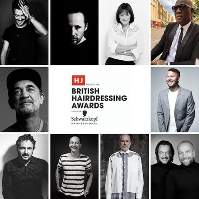 2020 British Hairdresser of the Year awards Nominees